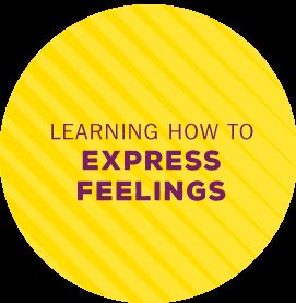 Learn to express feelings