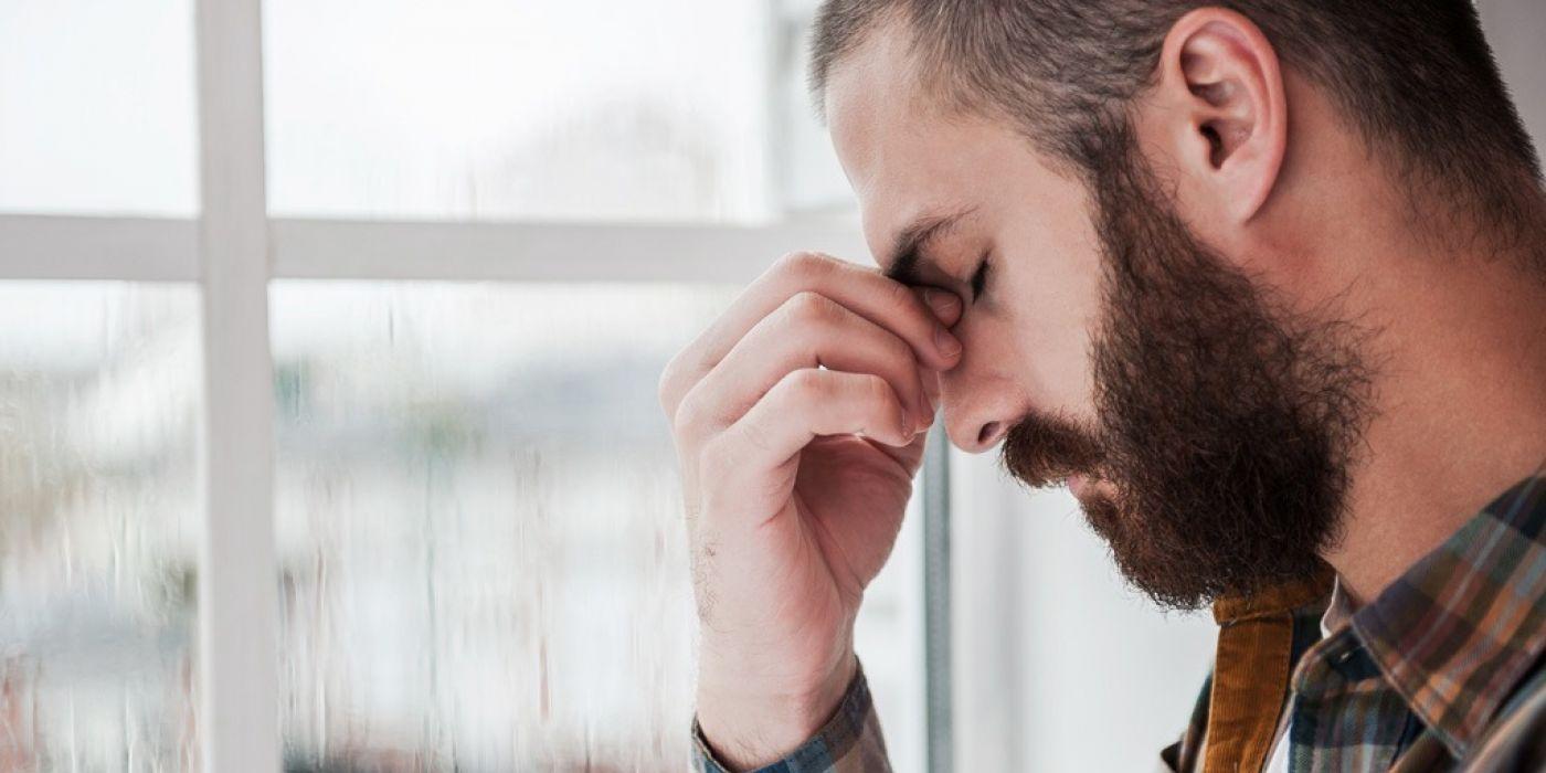 Depressed Sad Man